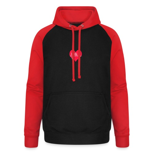 I love my Bike - Unisex Baseball Hoodie