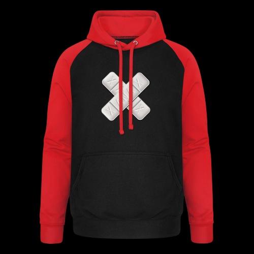 Xanax X Logo - Unisex Baseball Hoodie