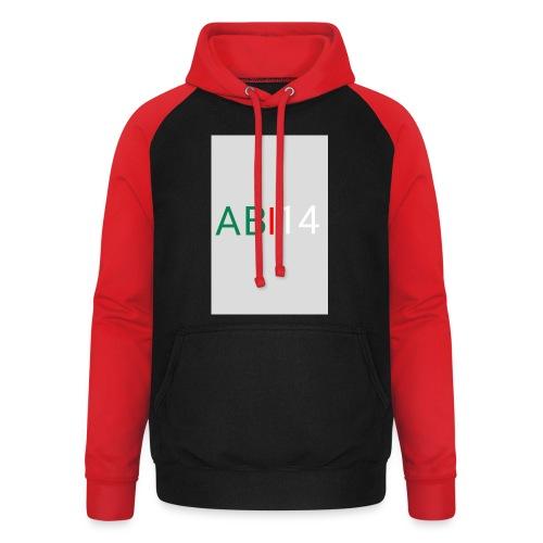 ABI14 - Sweat-shirt baseball unisexe