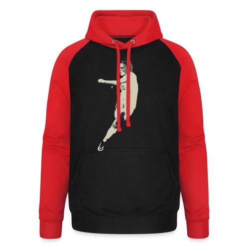 JAIMY VISSER - Unisex baseball hoodie