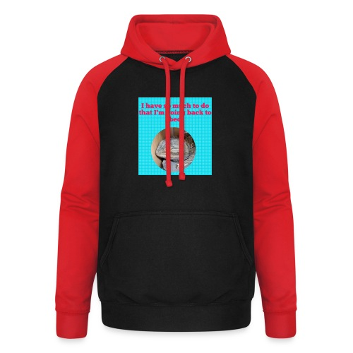 The sleeping dragon - Unisex Baseball Hoodie