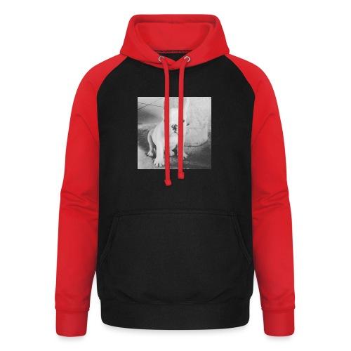 Billy Puppy - Unisex baseball hoodie