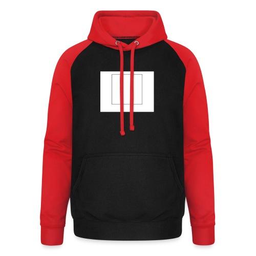 Square t shirt - Unisex baseball hoodie