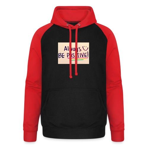 Bamse - Unisex baseball hoodie