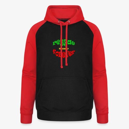 Reggae Music Forever - Unisex baseball hoodie