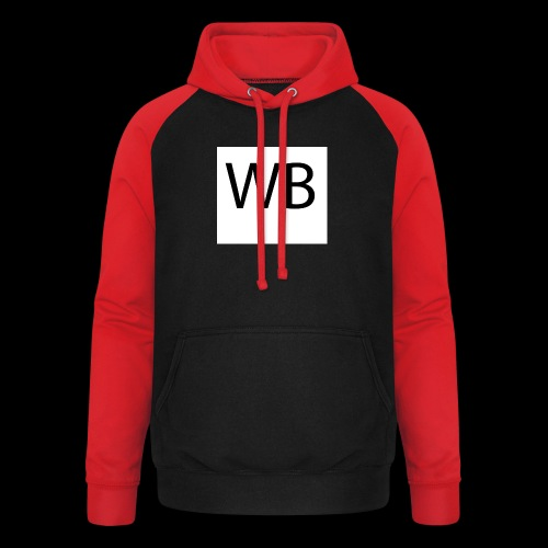 WB Logo - Unisex Baseball Hoodie