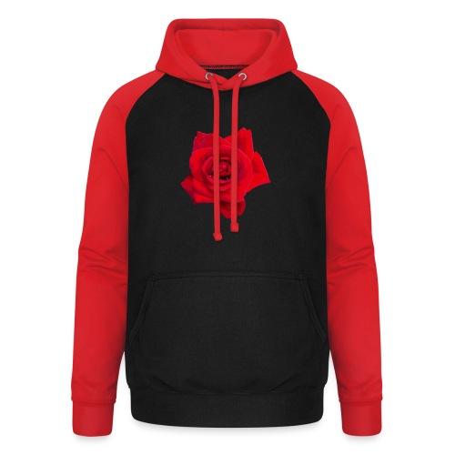 Red Roses - Bluza bejsbolowa typu unisex