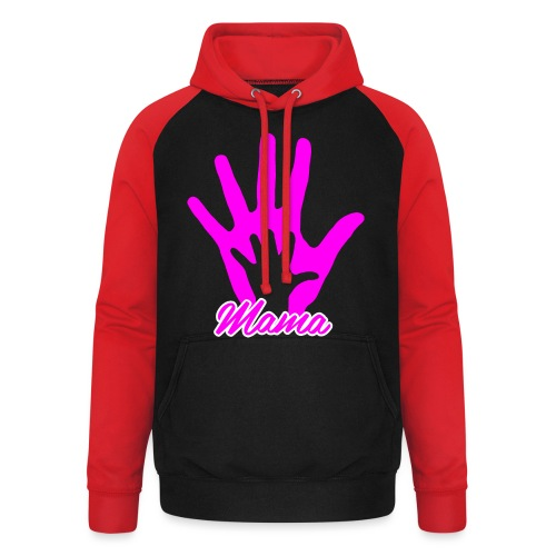 mamas hand - Sweat-shirt baseball unisexe