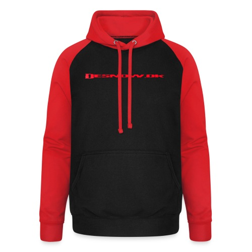 rød2 - Unisex baseball hoodie
