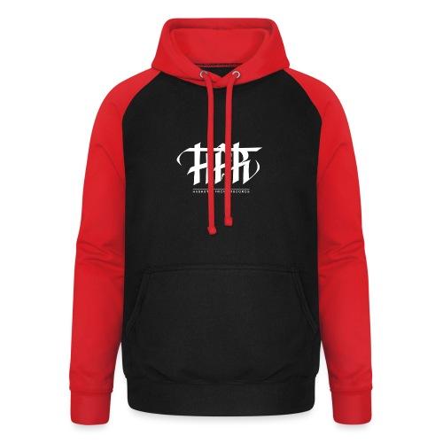 HFR - Logotipi vettoriale - Felpa da baseball con cappuccio unisex