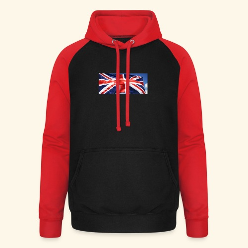 UK flag - Unisex Baseball Hoodie