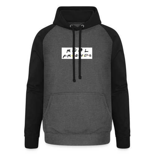 Real freinds - Unisex baseball hoodie