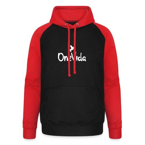onevida - Unisex baseball hoodie