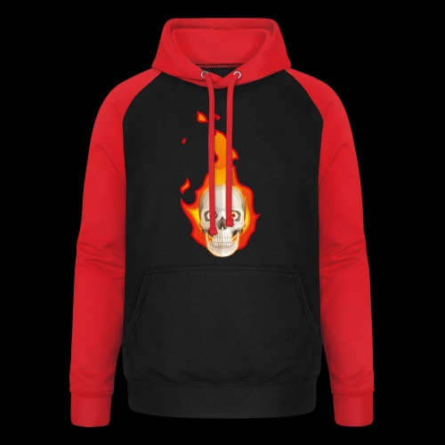 Ghost rider - Sweat-shirt baseball unisexe