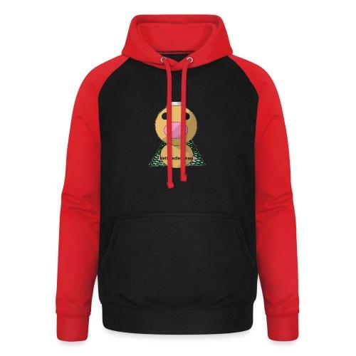 HetWeedleKanaal shirt MAAT S/M/L/XL/XXL - Unisex baseball hoodie