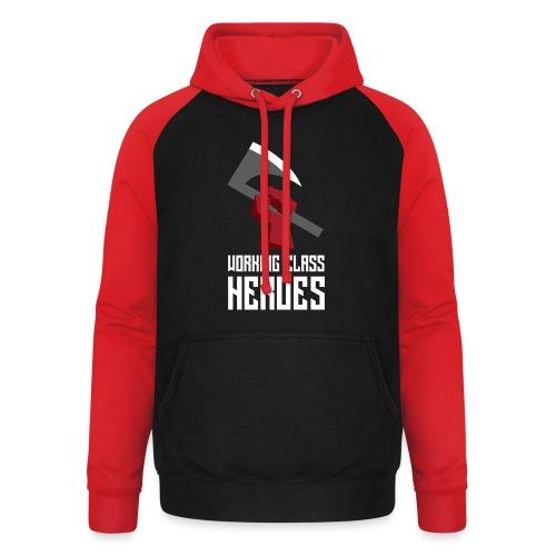 WORKING CLASS HEROES - Unisex Baseball Hoodie