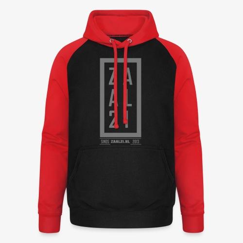 T-SHIRT-BLOK - Unisex baseball hoodie