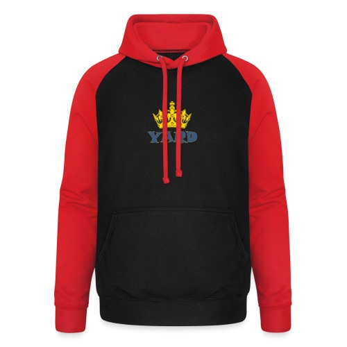 YARD king - Unisex baseball hoodie