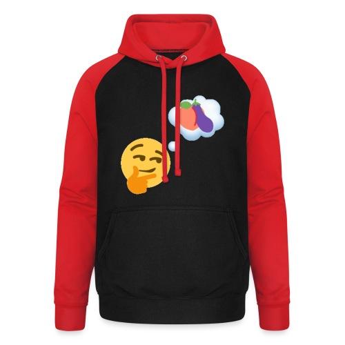 Johtaja98 Emoji - Unisex baseball-huppari