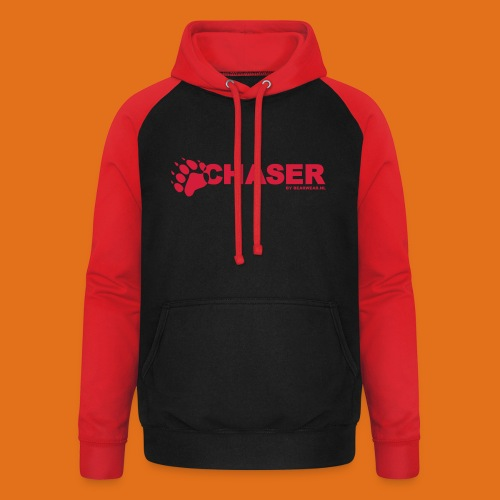 chaser by bearwear new - Unisex Baseball Hoodie