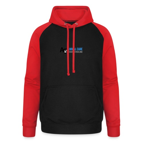 Sædding_Dyreklinik_ by Lattapon - Unisex baseball hoodie