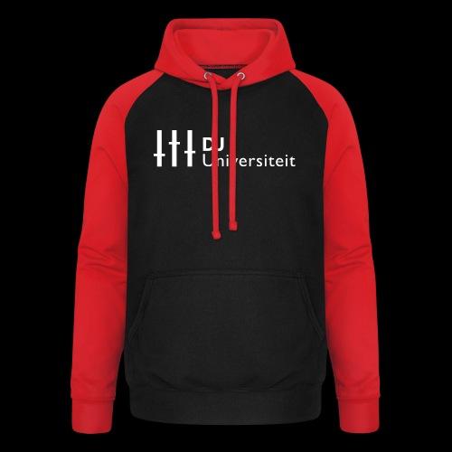DJ-U (WIT) - Unisex baseball hoodie