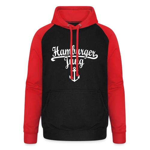 Hamburger Jung Klassik Hamburg - Unisex Baseball Hoodie