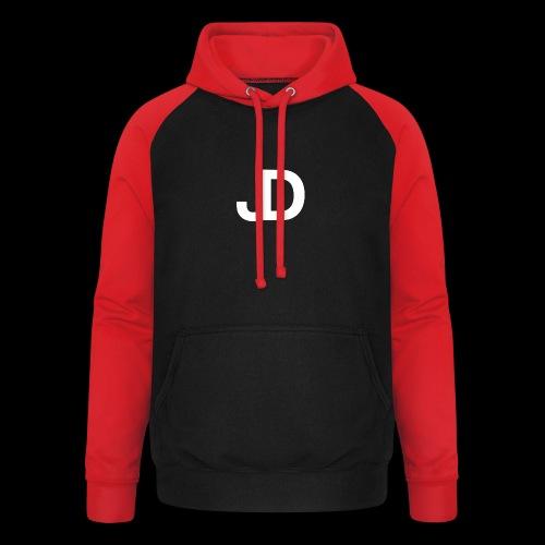 JD logo - Unisex baseball hoodie