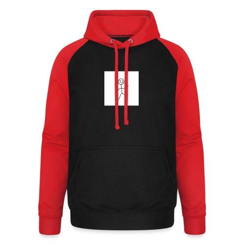 stick man t-shirt dance 1,0 - Unisex baseball hoodie