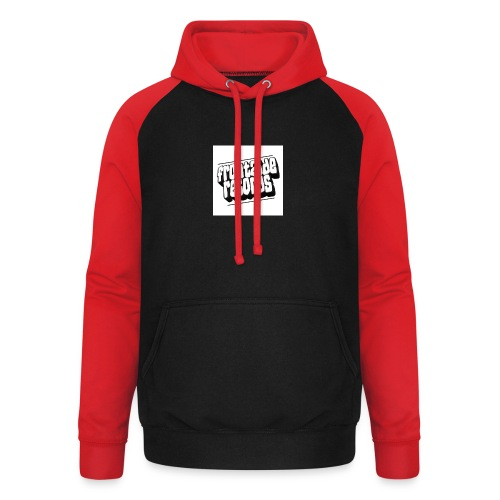 newfrontzidelogo - Unisex baseball hoodie