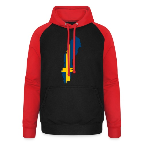 Sweden - Unisex baseball hoodie