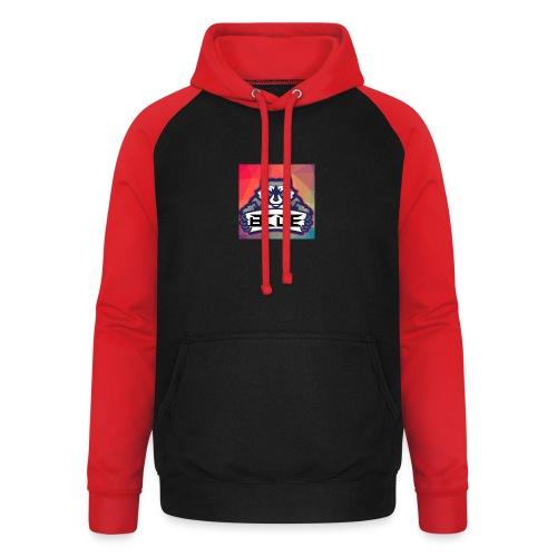bcde_logo - Unisex Baseball Hoodie