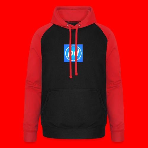 pd Blue V2 - Unisex baseball hoodie