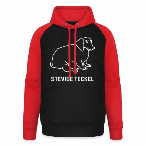 Stevige Teckel - Unisex baseball hoodie