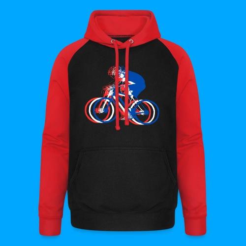 Bikes - Unisex Baseball Hoodie