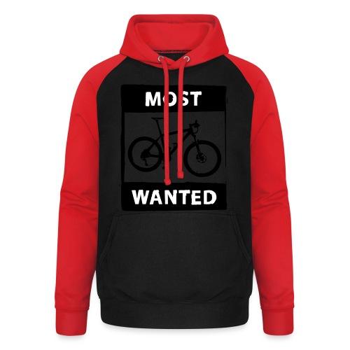 MTB - most wanted 2C - Unisex Baseball Hoodie