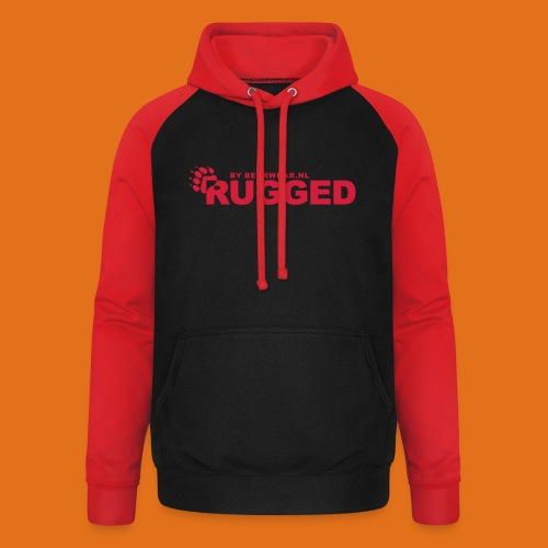 rugged - Unisex Baseball Hoodie