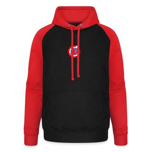 TEAM JG Logo top - Unisex Baseball Hoodie