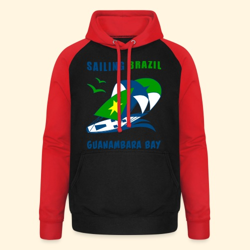 Sailing Brazil - Unisex Baseball Hoodie