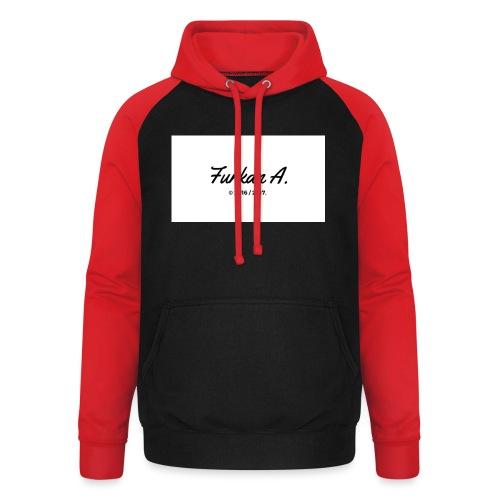 Furkan A - Drinkfles - Unisex baseball hoodie
