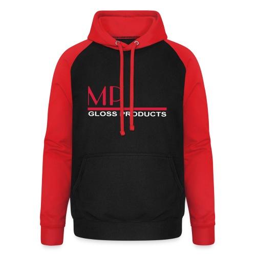 MP Gloss Logo Final - Unisex Baseball Hoodie