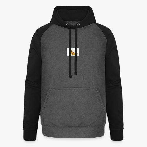 Bananana splidt - Unisex baseball hoodie
