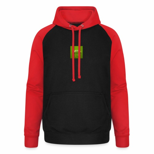 Raksos Logo - Unisex baseball hoodie