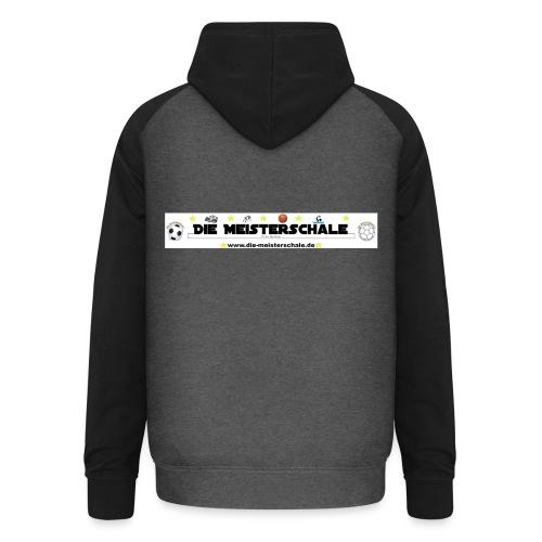 Die Meisterschale Logo Banner Werbung jpg - Unisex Baseball Hoodie