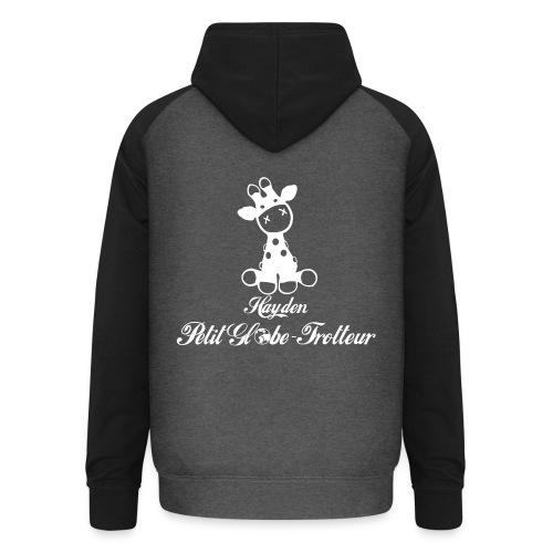 Hayden petit globe trotteur - Sweat-shirt baseball unisexe