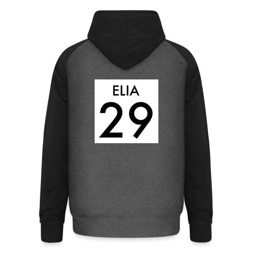 29 ELIA - Unisex Baseball Hoodie