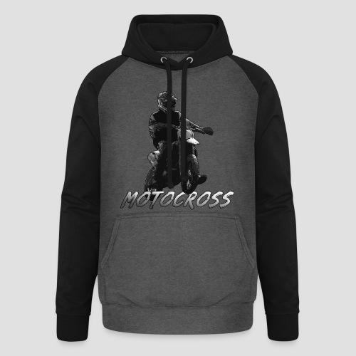 Motocross animation - Basebolluvtröja unisex