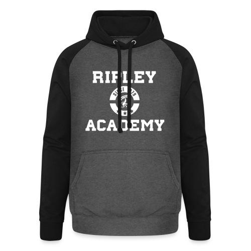 RIPLEY ACADEMY WHITE - Sudadera con capucha de béisbol unisex