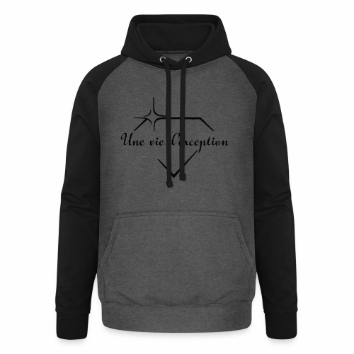 Une vie d'exception - Sweat-shirt baseball unisexe