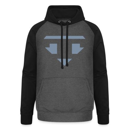 Twanneman logo Reverse - Unisex baseball hoodie
